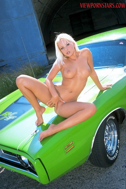 Necessary phrase... Nude model in a charger