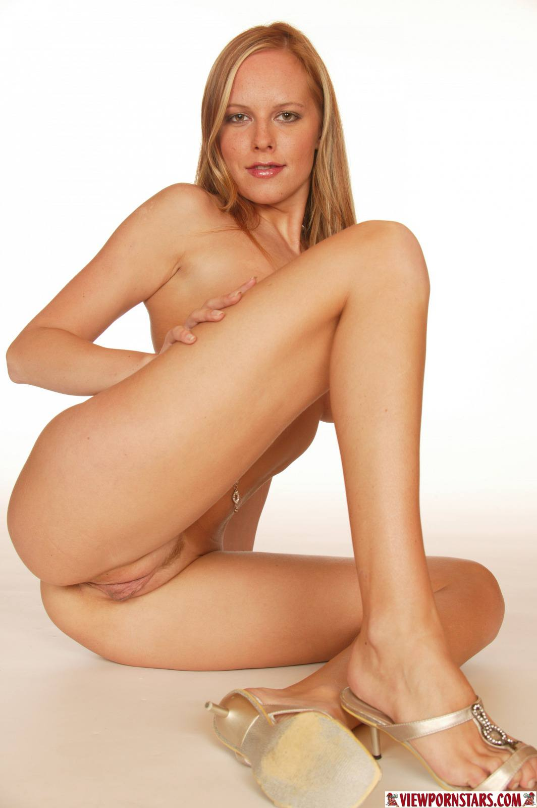 Shaved in nylons
