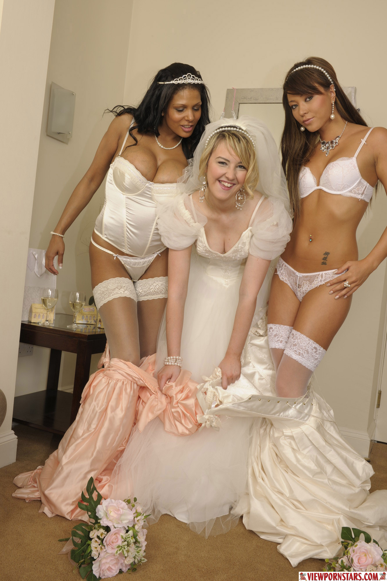 Consider, Bride and bridesmaids porn
