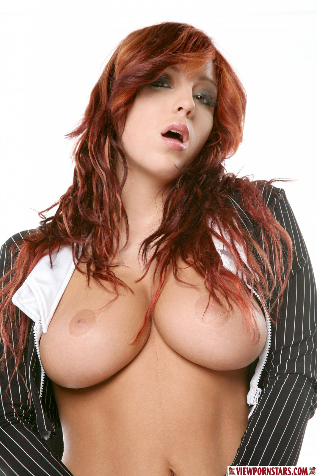 Natural big tits porn star wow
