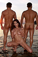Kyla Cole Sex At The Beach