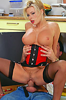 Michelle Thorne Helps The Plumber